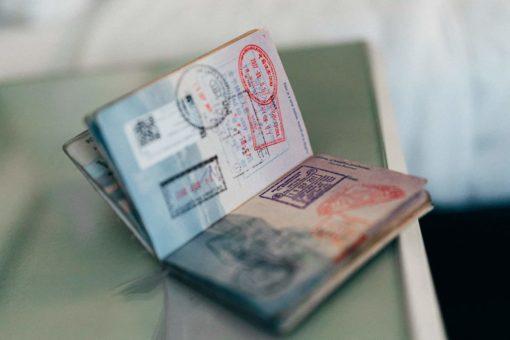 A Schengen Visa Holder's Passport