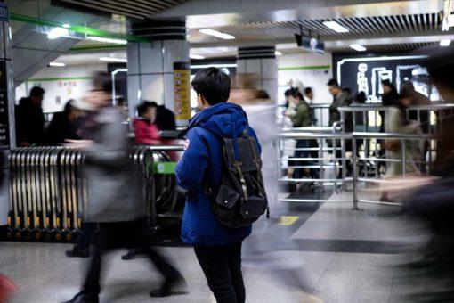 Man With Schengen Airport Transit Visa
