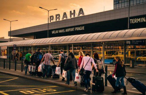 Prague Airport For Schengen Borders Crossing