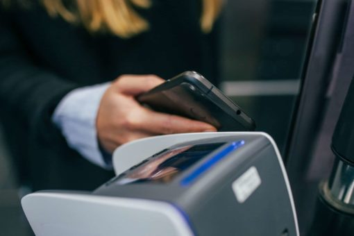 Man Paying The Schengen Visa Fee