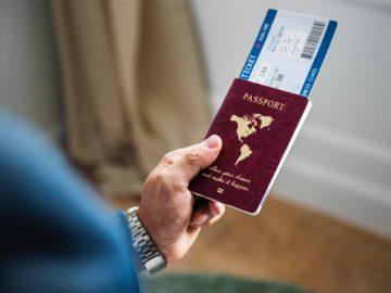 Passport With Schengen Visa