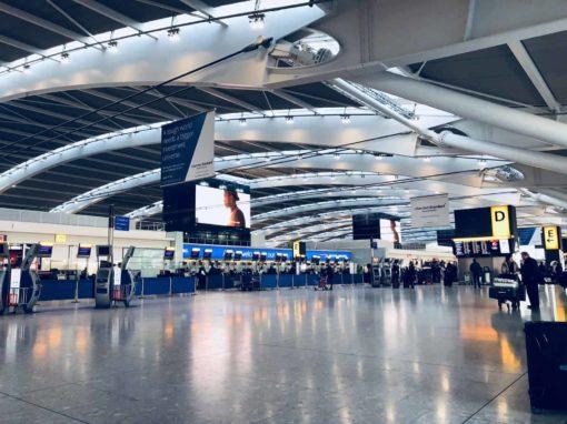 Schengen Visa Holders In An Airport